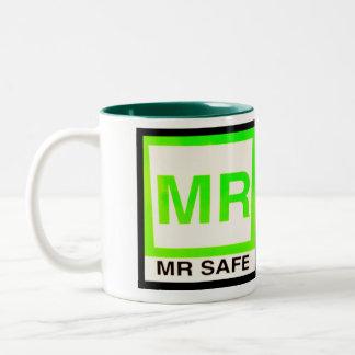 M. de Veilige Mok van de Koffie