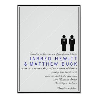 M. en M. De Uitnodiging van het Huwelijk van twee