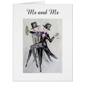 """""""M. en M."""" de Vrolijke Kaart van het Huwelijk"""