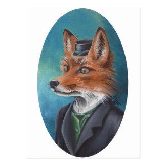 M. Fox Postcard het Animal Postcard Art. van de Briefkaart