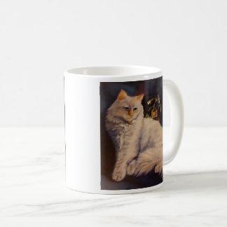 M. Gregory de kat Koffiemok