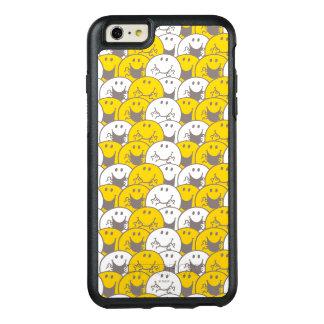 M. Happy   het Opvlammende Patroon van Glimlachen OtterBox iPhone 6/6s Plus Hoesje