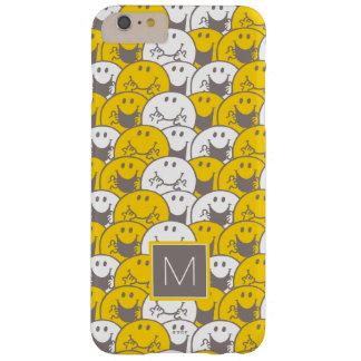 M. Happy   Opvlammend Patroon   van Glimlachen Barely There iPhone 6 Plus Hoesje