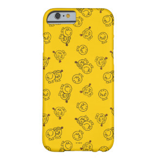 M. Happy & Weinig Misser Sunshine   Geel Patroon Barely There iPhone 6 Hoesje