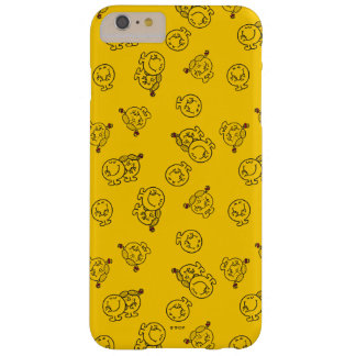 M. Happy & Weinig Misser Sunshine   Geel Patroon Barely There iPhone 6 Plus Hoesje