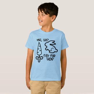 """""""M. Hip aan de Hop"""" de T-shirt van het Kind"""