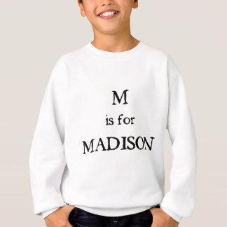 M is voor Madison Trui