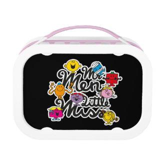 M. Men Little Miss   het Logo van de Groep Lunchbox