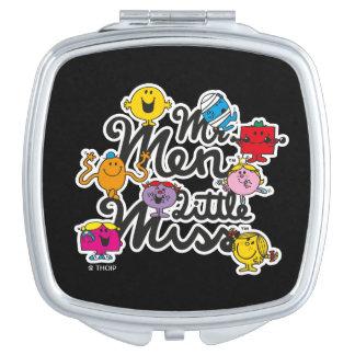 M. Men Little Miss | het Logo van de Groep Makeup Spiegeltjes