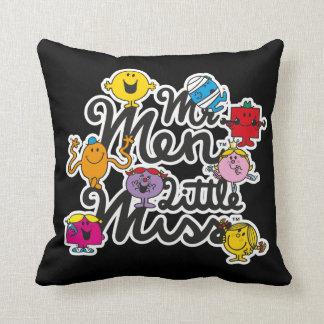 M. Men Little Miss | het Logo van de Groep Sierkussen