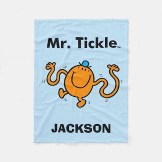 M. Men | M. Tickle Will Tickle Fleece Deken