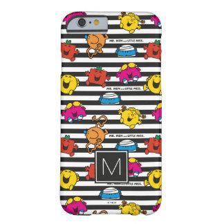 M. Men & Weinig Misser   Patroon   van Strepen Barely There iPhone 6 Hoesje