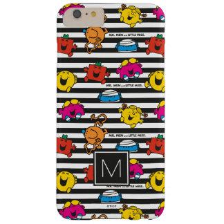 M. Men & Weinig Misser   Patroon   van Strepen Barely There iPhone 6 Plus Hoesje