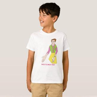 M. Nice om u te ontmoeten T-shirt voor Kind