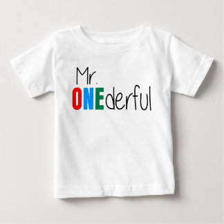 M. Onederful Wonderful Kids Birthday T-shirt