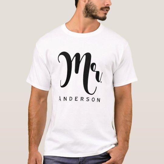 M. Partij van het Huwelijk van het Manuscript van T Shirt