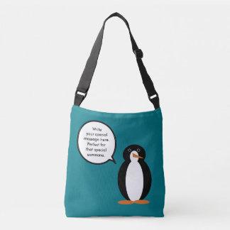 M. Penguin Birthday Suit Crossbody Tas