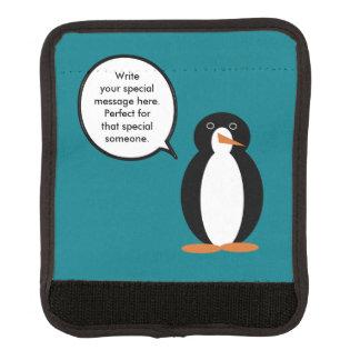 M. Penguin Birthday Suit Handvat Beschermer