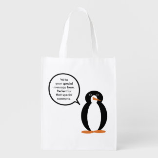 M. Penguin Birthday Suit Shoppers