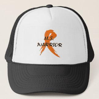 M.S. De woorden van de strijder met oranje lint Trucker Pet