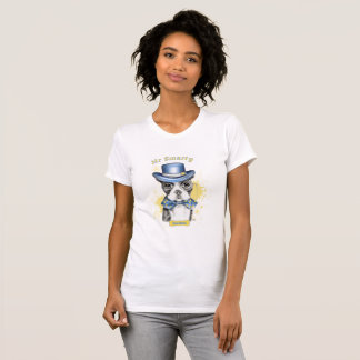 M. Smarty Boston Terrier T Shirt