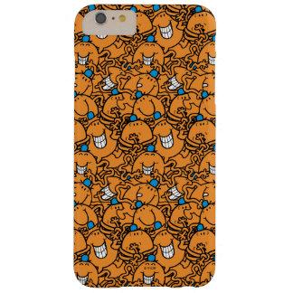 M. Tickle   het Oranje Patroon van het Kietelend Barely There iPhone 6 Plus Hoesje