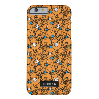 M. Tickle   Oranje Patroon   van het Kietelend Barely There iPhone 6 Hoesje