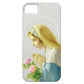 Maagdelijke iPhone 5 van Mary Prayer Hoesje