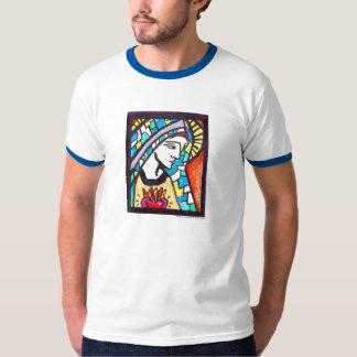 Maagdelijke Mary Immaculate Heart: T-shirt