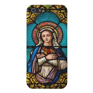 Maagdelijke Mary iPhone 5 Hoesjes
