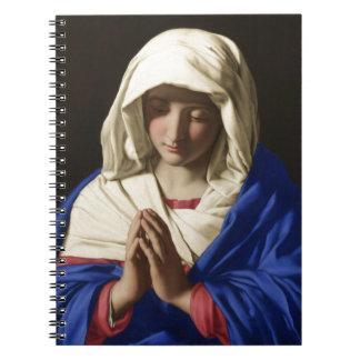 Maagdelijke Mary Notitieboek