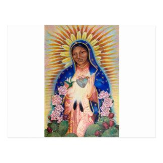 Maagdelijke Mary - Onze Dame van Guadalupe Briefkaart