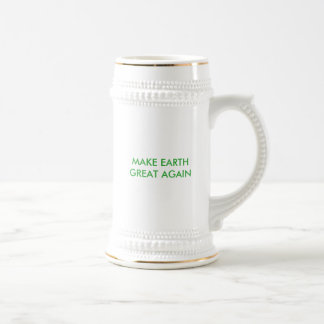 Maak Aarde Groot (en groen) Opnieuw! Bierpul