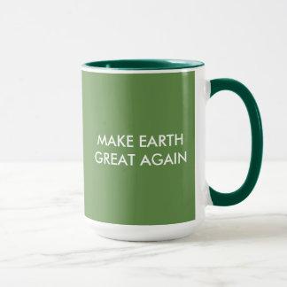 Maak Aarde Groot (en groen) Opnieuw! Mok