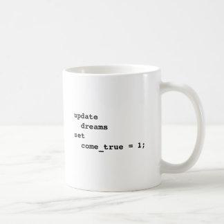 Maak Al Uw Dromen Waar komen Koffiemok