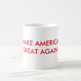 MAAK AMERIKA GROOT OPNIEUW KOFFIEMOK
