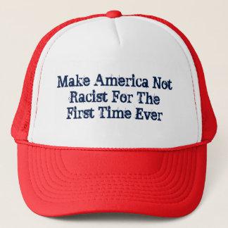 Maak Amerika niet Racistisch Trucker Pet