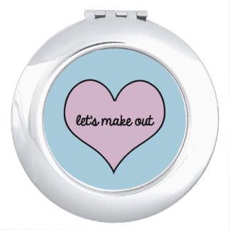 MAAK Compacte Spiegel op Makeup Spiegels