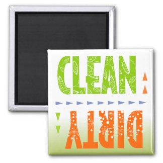 Maak/de Vuile Magneet van de Afwasmachine schoon