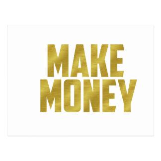 Maak Geld Briefkaart