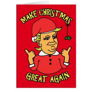 Maak Kerstmis Groot opnieuw Briefkaarten 0
