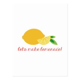 Maak Limonade! Briefkaart