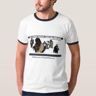 Maak me geen Amerika ongerust, heeft Israël uw T Shirt