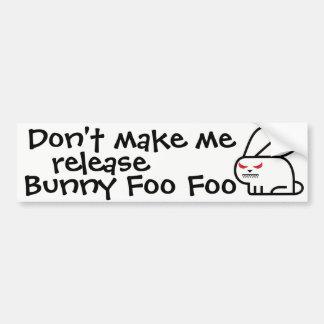 Maak me geen versie… bumpersticker