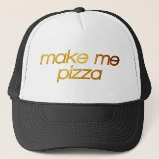 Maak me pizza! Ik ben hongerig! Trendy foodie Trucker Pet