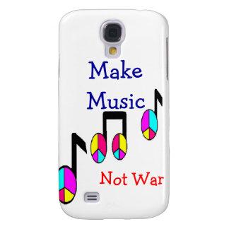 Maak Muziek, niet Oorlog Galaxy S4 Hoesje