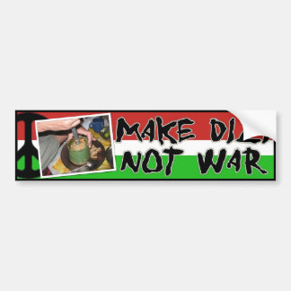 Maak niet de bumpersticker van de Oorlog Dizi