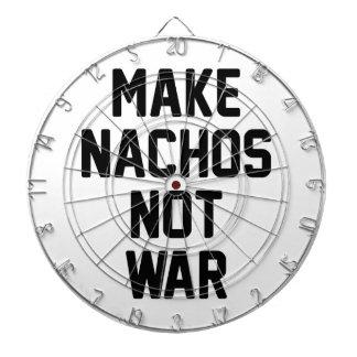 Maak niet Oorlog Nachos Dartbord