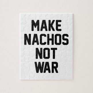 Maak niet Oorlog Nachos Legpuzzel