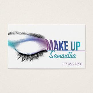 Maak omhoog de kunstenaar van de Make-up van het Visitekaartjes
